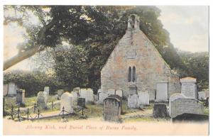 Scotland Ayr Alloway Robert Burns Birth Room GWW Postcard