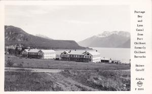 RP; Portage Bay and Lynn Canal from Port Chilkoot formerly Chilkoot Barracks,