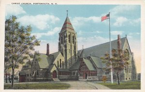 PORTSMOUTH, New Hampshire, 1910-1930s; Christ Church