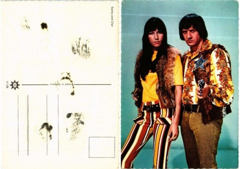 CPA Sonny and Cher FILM STAR (556024)
