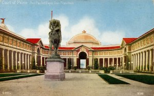 CA - San Francisco. Panama-Pacific Int'l Exposition, 1915. Court of the Palms
