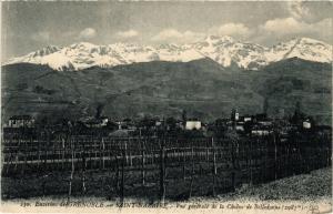 CPA   Environs de Grenoble -Saint-Nazaire-Vue générale de la Chaine ...(434094)