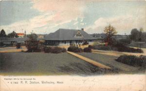25944 MA, Wellesley 1908, R.R. Station, No. G 7402