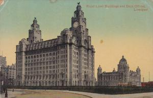Royal Liver Buildings & Dock Offices , LIVERPOOL , England , 00-10s