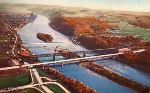 PA - Pennsylvania Turnpike. Allegheny River Bridges
