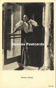 Movie Film Actress MARLENE DIETRICH (1930s) Jospe RPPC 456