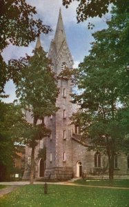 Brunswick, ME, Bowdoin College, The Spires, Chrome Vintage Postcard g9598