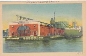 New Jersey Camden Municipal Pier City Of Camden