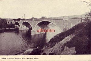 SIXTH AVENUE BRIDGE, DES MOINES, IOWA
