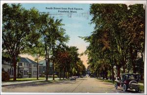 South St. Park Square, Pittsfield MA