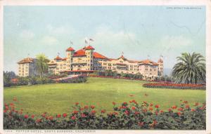 Santa Barbara California~Potter Hotel on Hilltop~Detroit Pub Co Phostint #71312