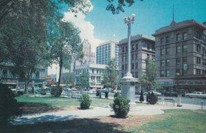 EL PASO , Texas , 50-60s ; Intersection of Mills Street & Mesa avenue