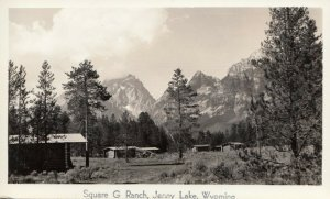 RP; JENNY LAKE, Wyoming, 20-40s; At Square G Ranch # 3