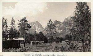 RP; JENNY LAKE, Wyoming, 20-40s; At Square G Ranch # 3