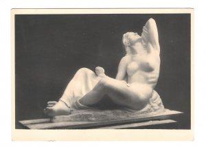 RPPC Hoheres Verlangen Edmund Moiret Nude Sculpture Kuhne Wien 4X6 Art Postcard