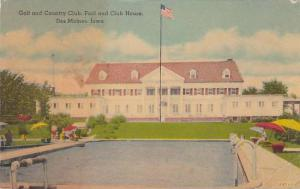 Exterior, Golf and Country Club, Pool and Club House, Des Moines, Iowa,   00-10s