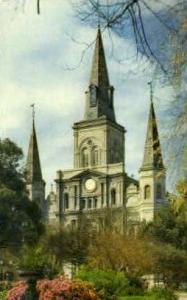St. Louis Cathedral New Orleans LA 1954
