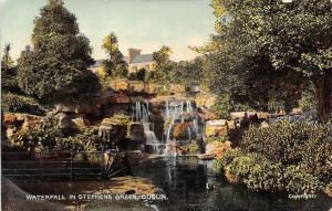 Waterfall in Stephens Green Dublin