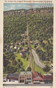 Tennessee Chattanooga The Incline Up Lookout Mountain 1989