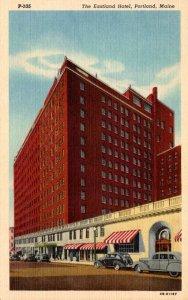 Maine Portland The Eastland Hotel Curteich