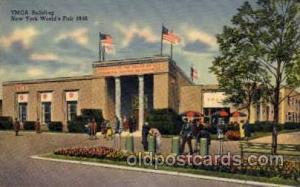 New York Worlds Fair 1939 exhibition postcard Post Card  YMCA Building