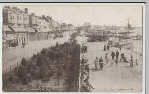 Essex; Southend On Sea, Marine Parade PPC, 1914 PMK, To Miss Wakeling, Edmonton