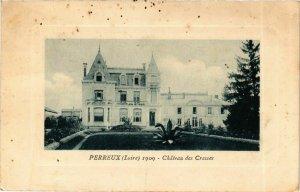 CPA Perreux - Chateau des Cresses FRANCE (916379)
