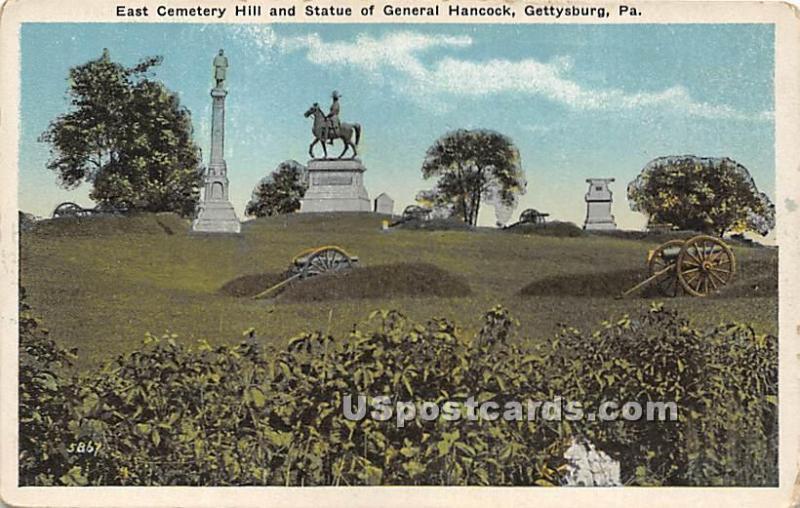Gettysburg PA Unused