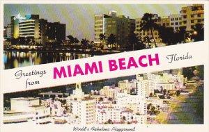 Florida Greetings From Miami Beach