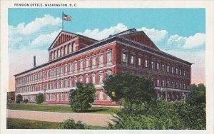 Pension Office Washington D C