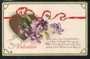Valentine Flowers Heart BIN