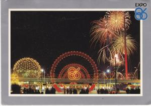Post Card Canada Vancouver Expo Centre 1986