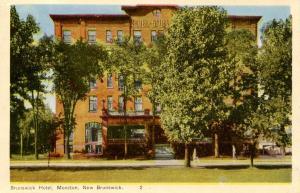 Canada - NB, Moncton. Brunswick Hotel
