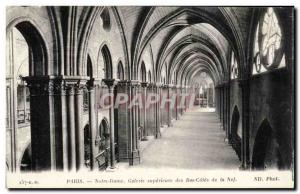 Paris - 4 - Notre Dame - Superior Gallery - Old Postcard