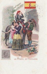 La Poste en Espagne , 1902
