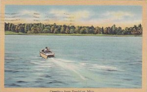 Michigan Frankfort Greetings From Frankfort 1953