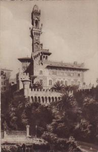 Italy Liguria Genova Panorfama Castello Mackenzie