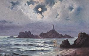 TUCK 7133 ; JERSEY.-Les Corbieres Lighthouse , 00-10s