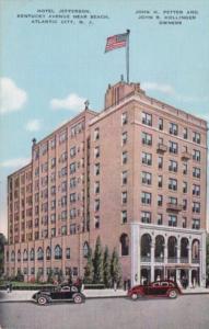 Hotel Jefferson Kentucky Avenue Atlantic City New Jersey