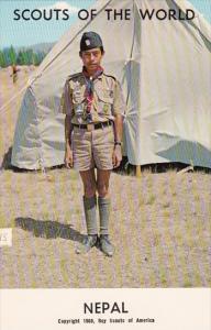 Boy Scouts Of The World In Uniform Nepal