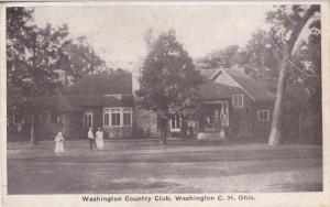 WASHINGTON C.H., Ohio, PU-1926; Washington Country Club