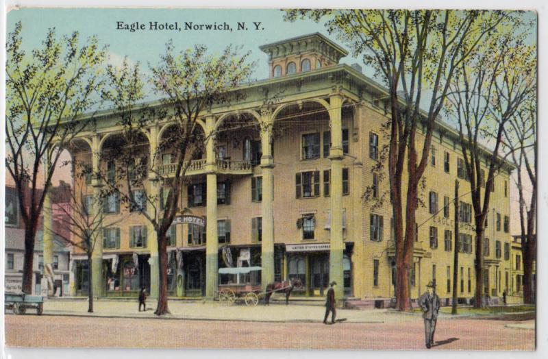 Eagle Hotel Norwich Ny