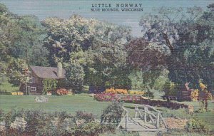 Little Norway Blue Mounds Wisconsin Curteich