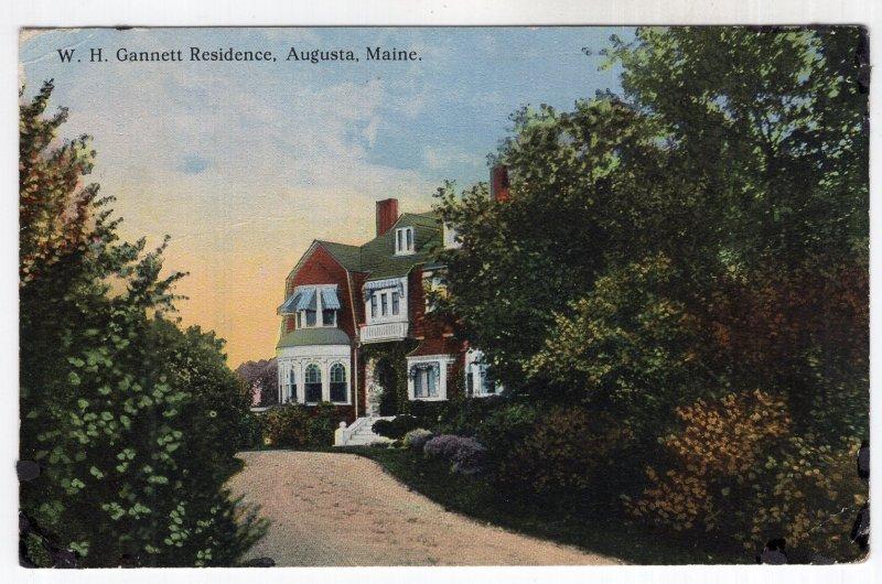 Augusta, Maine, W. H. Gannett Residence