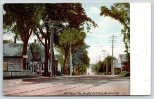 Portland ME~? K Hing Home Office~Small Homes~RR Trax*~Deering Ave~Belt Line~1906