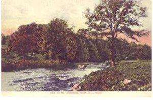 Shuttleville MA -  QUINEBAUG River 1900s