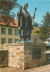 Germany Hildesheim St Bernward statue & Dome