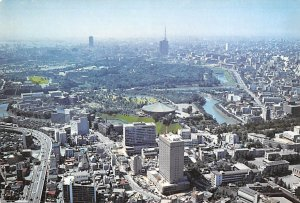 Imperial Palace Grounds and Hotel Grand Palace Tokyo Japan Unused