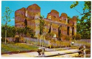 Ruins of Jaquelin-Ambler House, Jamestown VA