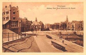 Bellamy Park vanaf Boulevard De Ruyter Vlissingen Holland Unused